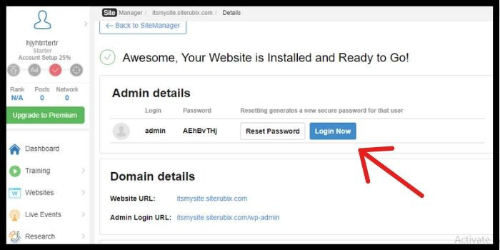 Awesome Your Website is Ready