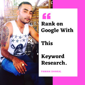 How To Do Keyword Research For SEO And Ranking on Google