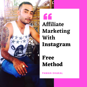How To Start Affiliate Marketing With Instagram