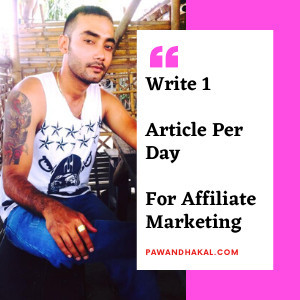 How to write article for affiliate marketing